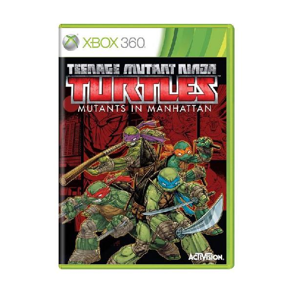 Jogo teenage mutant ninja turtles: mutants in manhattan -