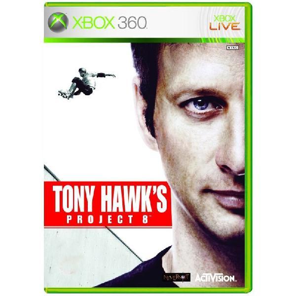 Jogo tony hawk's project 8 - xbox 360