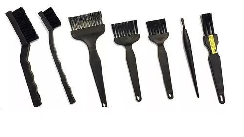 Kit pincel escova esd anti estática limpeza pc note placa
