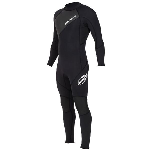 Long john mormaii extra line 2/2 back zip preto - surf alive