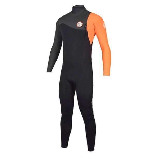 Long john rip curl e-bomb zip free 3/2mm orange - surf alive