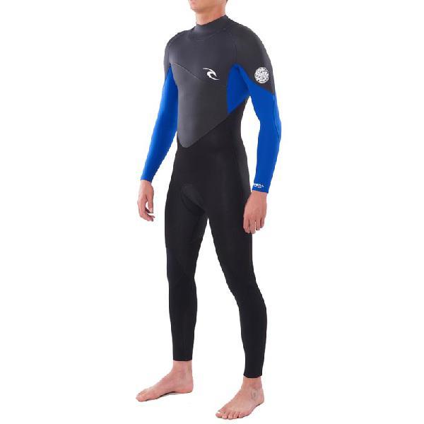 Long john rip curl omega 3/2 back zip blue - surf alive
