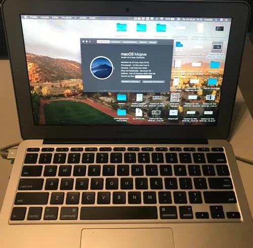 Macbook air 4gb ram 128 gb hd ssd - mid2015