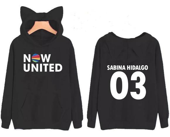 Moletom com orelhinha now united sabina hidalgo 03 unissex