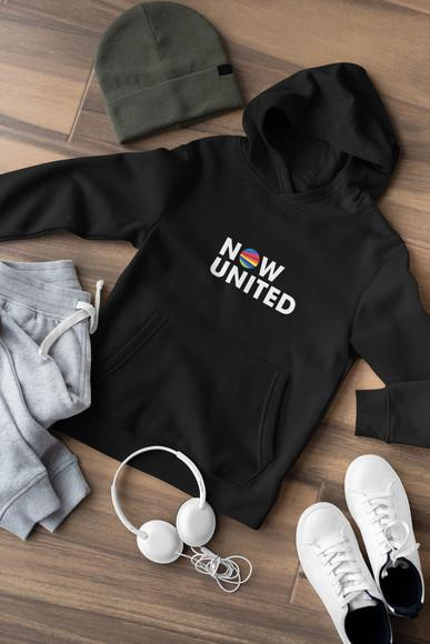 Moletom now united com capuz