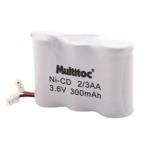 Multitoc bateria p// telefone s// fio 3,6x300mah 2// 3aa