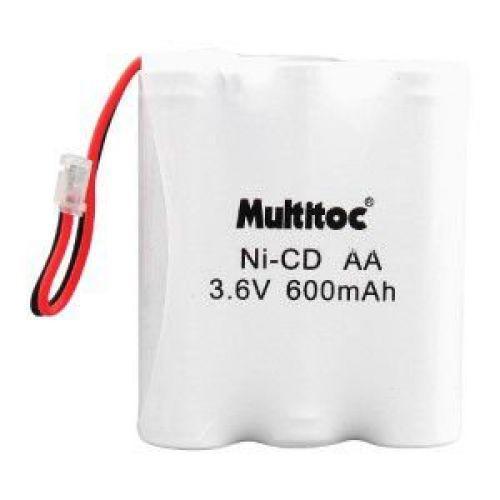Multitoc bateria p// telefone sem fio 3,6x600mah 3aa