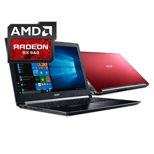Notebook acer a515-41g-1480 - amd a12 - ram 8gb - hd 1tb -