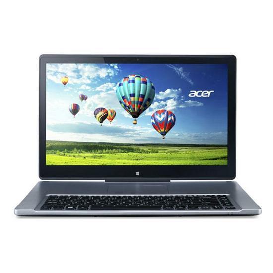Notebook acer r7-572-6434 intel core i5 2.5ghz / memória