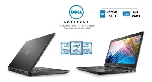 Notebook dell latitude 5490 i5 8ª.ger 8gb ssd m2 256gb