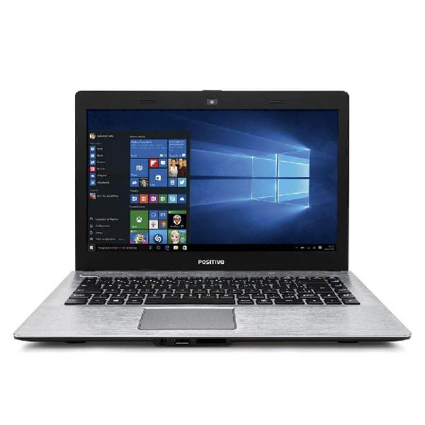 Notebook positivo stilo xr3500 - cinza - intel celeron n2808