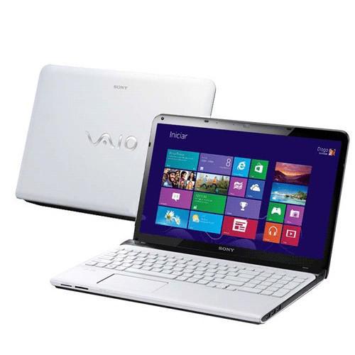 Notebook sony vaio sve15125cbw - intel core i3-3110m - ram