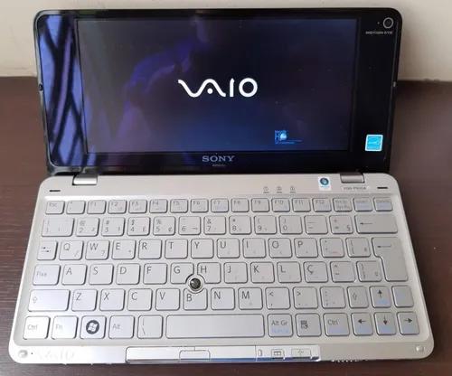 Notebook sony vaio vgn-p630a impecável! + acessórios
