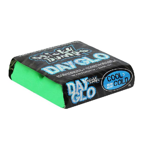 Parafina sticky bumps day glo colors cool cold verde -