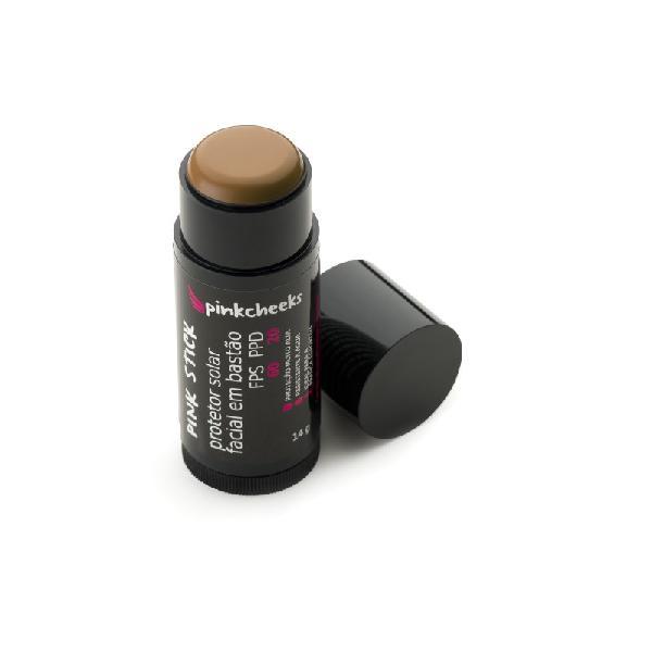 Protetor solar facial em bastão pink cheeks fps 60 / ppd 20