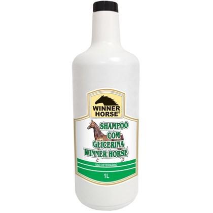 Shampoo com glicerina 1 litro (maciez e suavidade) winner