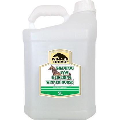 Shampoo com glicerina 5 litros (maciez e suavidade) winner