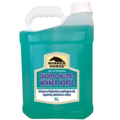 Shampoo neutro 5 litros (fórmula suave) winner horse