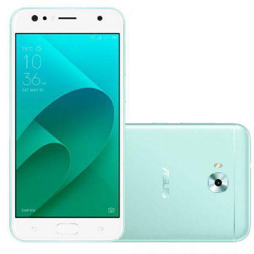 Smartphone asus zenfone 4 selfie, verde, zd553kl, tela de