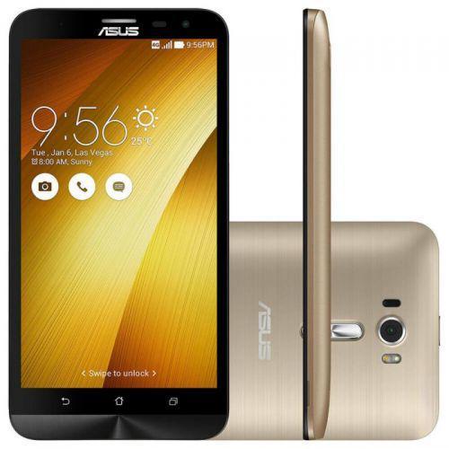 Smartphone asus zenfone go lte dourado 16gb dual chip quad