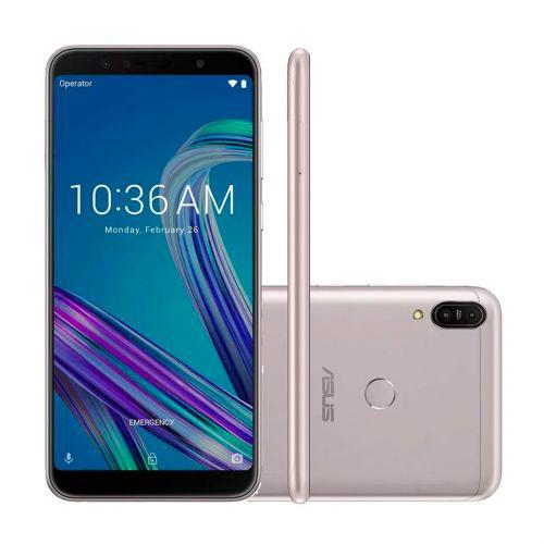Smartphone asus zenfone max pro m1 prata 32gb 3gb tela de 6/