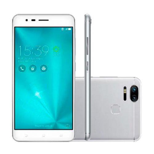Smartphone asus zenfone zoom s, prata, ze553kl, tela de 5.5