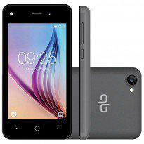 Smartphone qbex joy w410 8gb dual chip desbloqueado cinza