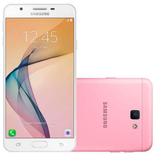 Smartphone samsung galaxy j7 prime g610m rosa - dual chip,