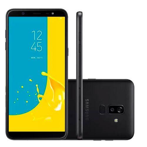 Smartphone samsung galaxy j8 64gb dual chip android 8.0 tela