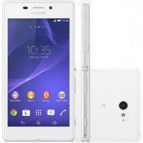 Smartphone sony xperia m2 aqua d2403 desbloqueado oi branco
