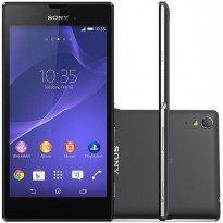 Smartphone sony xperia t3 d5106 desbloqueado claro preto
