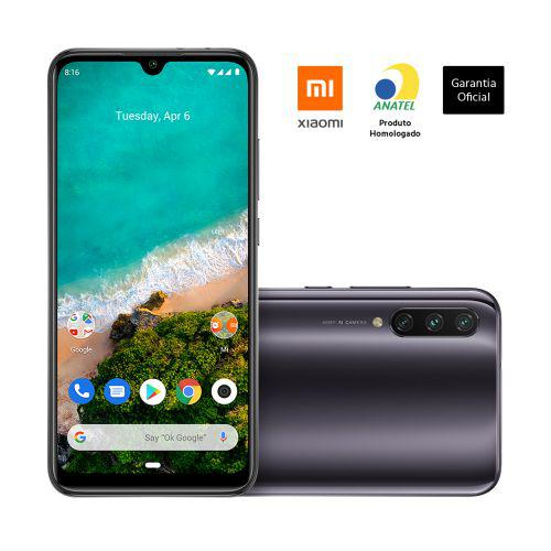 Smartphone xiaomi mi a3 cinza - kind of grey