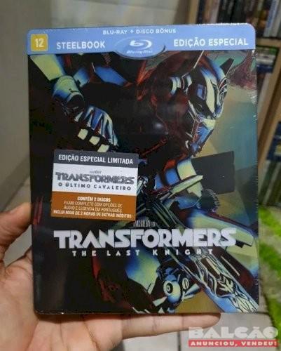 Steelbook Blu-ray Transformers Último Cavaleiro Lacrado
