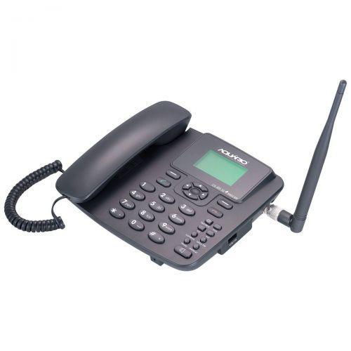 Telefone celular fixo mesa ca-40s 3g 1 chip