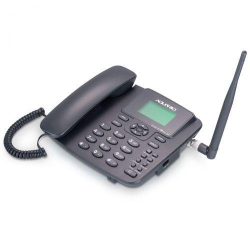 Telefone celular rural fixo de mesa 3g pentaband 850,