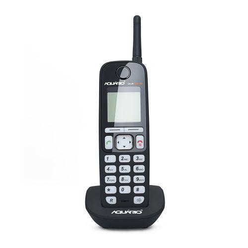 Telefone celular de mesa sem fio com identificador de