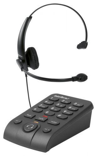 Telefone com headset intelbras hsb50