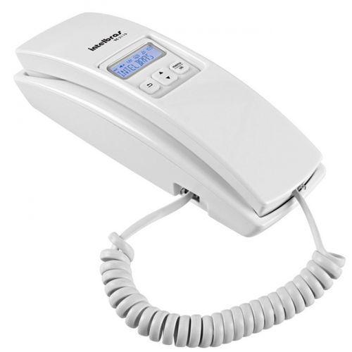Telefone fixo com registrador de chamadas tc2110 intelbras
