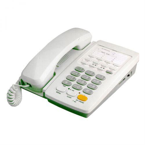 Telefone fixo para 2 linhas com viva-voz bege windsor