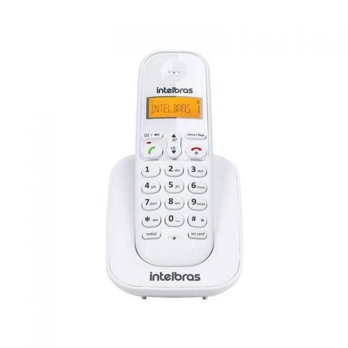 Telefone intelbras sem fio ramal branco - ts3111