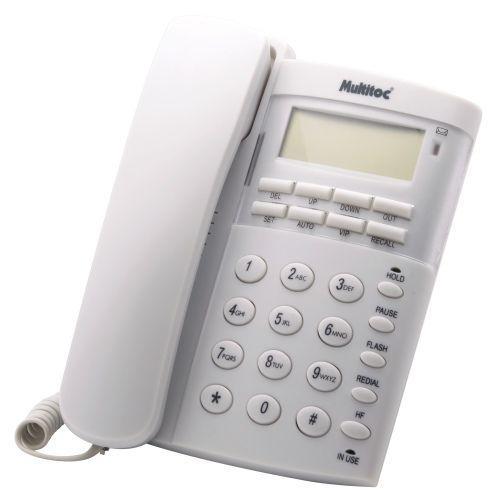 Telefone office id branco - identificador de chamadas,