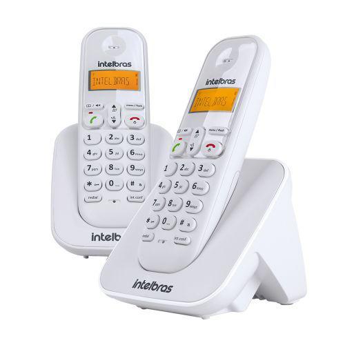 Telefone s// fio intelbras 4123002 ts 3112 c// ramal