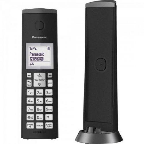 Telefone s// fio kxtgk210lbb preto panasonic