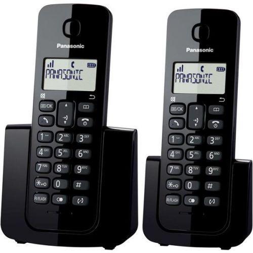Telefone sem fio com base+ramal com id // kx-tgb112lbb preto