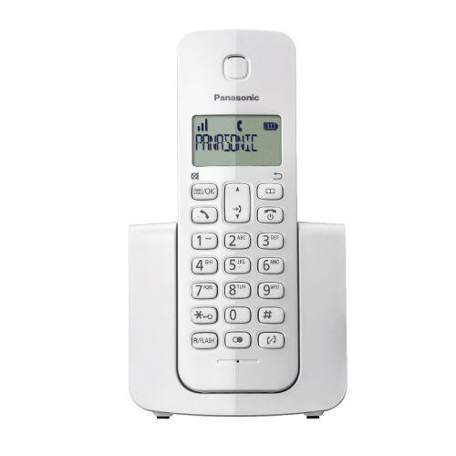 Telefone sem fio com id chamadas panasonic branco wh -