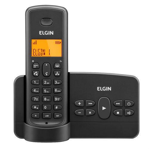 Telefone sem fio elgin tsf800se preto - secret/u00e1ria