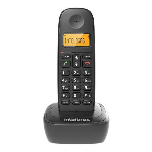 Telefone sem fio intelbras ts 2510 id preto 4122510