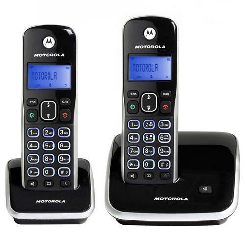 Telefone sem fio motorola dect 6.0 com id. chamadas,