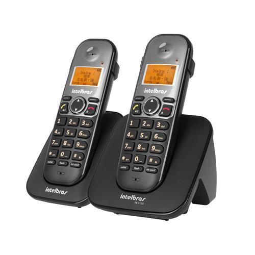 Telefones sem fio intelbras icon 4125122 ts 5122 preto preto