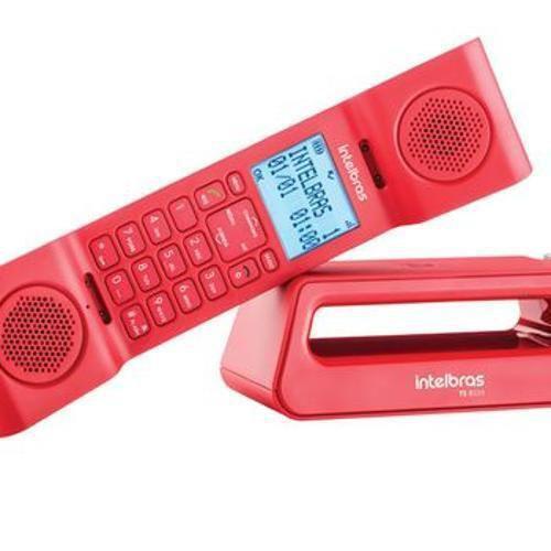 Telefones sem fio intelbras icon 4128528 vermelho com